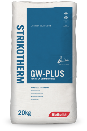 Strikotherm GW Plus Bonding and Foundation mortar