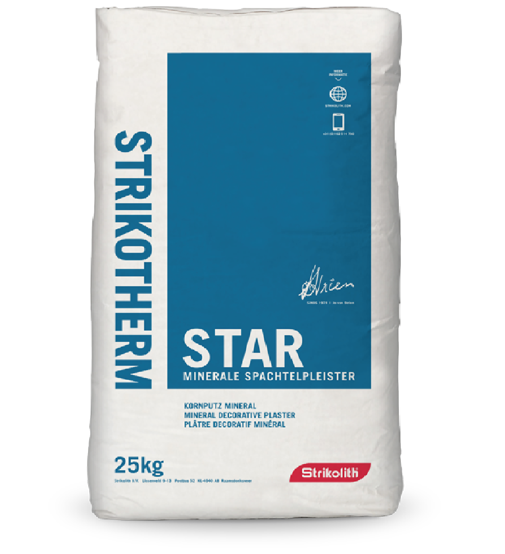 Strikotherm Mineral Plaster VARIOSTAR