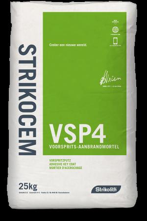 Strikocem VSP4 voorsprits-aanbrandmortel